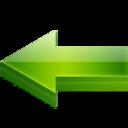 back,left,prev icon