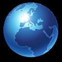 planet, browser, globe, world, earth, global, internet, skull, blue, international icon