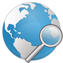 earth, search, internet icon