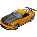 automobile, transport, vehicle, transportation, car, mustang, ford, racing car, sports car icon