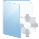 system,blue icon