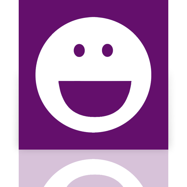 mirror, messenger, yahoo icon