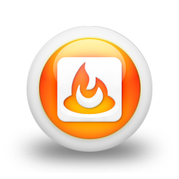 feedburner, logo, square icon