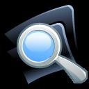 seek, find, search, folder icon