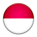 indonesia, flag, country icon