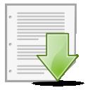 save, document icon