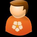 user,web,magnolia icon