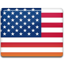 united, flag, state icon