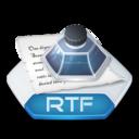 Office word rtf icon