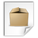 application, archive icon