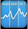 graph, chart, stocks icon