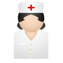 nurse, medical icon