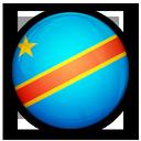 of, democratic, republic, the, flag, congo icon