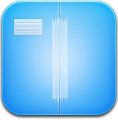 Blue, Dropbox icon