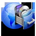 storage, network icon