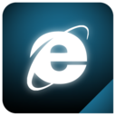 explorer,glow,ie icon