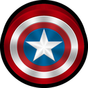 marvel, ios, coc, captain america icon