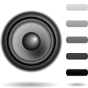 oldschool, volume, audio, medium icon