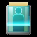 user,check icon