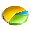 graph, chart, colorful icon