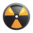 nuclear, danger, biohazard icon