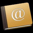 Address, Book, Old, School icon