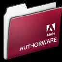 authorware, folder, adobe icon