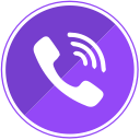mobile, phone, calls, communication, call, viber icon