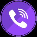 mobile, phone, calls, communication, call, viber icon