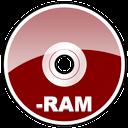 ram, dvd, hd icon