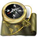 Antique, Atlas, Compass, Exploration, Map, Navigation, Old, Sailing, World icon