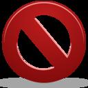 cancel,stop,no icon