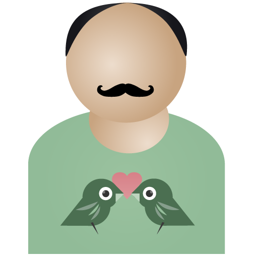 user, account, bird, male, person, animal, human, profile, people, afro, man, member icon