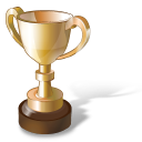 cup, prize, gold, trophy icon