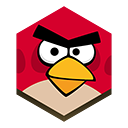 angry, bird icon