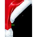 christmas, santa, santacornerhat, hat, santas hat icon