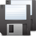 Actions document save all icon