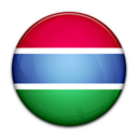 flag,gambia,country icon