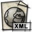 mime, text, document, gnome, xml, file icon
