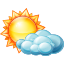 Cloudy, Day, Partly icon