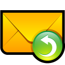 message, envelop, mail, letter, reply, response, email icon