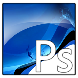photoshop, file, ps, document, adobe, text icon