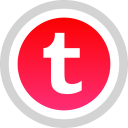 tumblr, logo, social, media icon