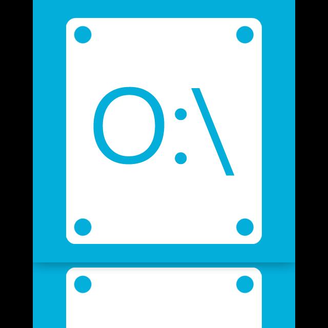 o, mirror icon