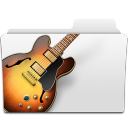 bass, music, folder, guitar, garageband icon