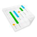 project,plan,gant icon