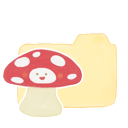 ak, folder, mushroom, vanilla icon