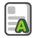 Rich text format icon