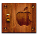 apple,wood icon