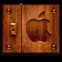 apple,wood icon